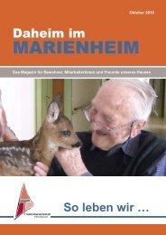 Daheim im Marienheim - Alten- und Pflegeheim Marienheim