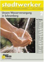 Ausgabe Nr. 2 - November 2002 - Stadtwerke Schramberg GmbH ...
