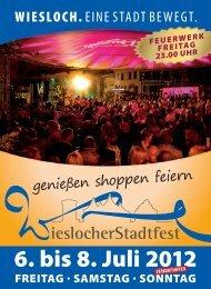6. bis 8. Juli 2012 - lokalmatador.de