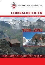 indoor & outdoor climbing - SAC Sektion Interlaken