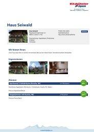 Haus Seiwald - Kitzbüheler Alpen St. Johann in Tirol