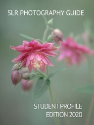 SLR Photography Guide - Student Profile Edition 2020