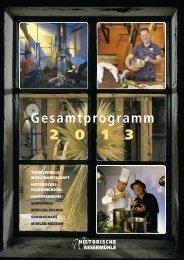 Gesamtprogramm 2013 als PDF