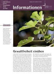 Informationen - Evangelische Kirche der Pfalz