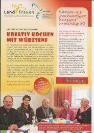 Senfwettbewerb 2012 - Kreisverband der LandFrauen Gifhorn-Nord ...