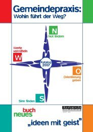 Gemeindepraxis - Theologische Buchhandlung Jost AG