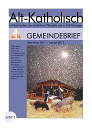 Erntedank 2011 - Alt-Katholische Gemeinde in Coburg