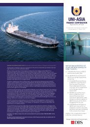 our business - Uni-Asia Finance Corporation
