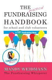 Practical Fundraising Handbook - First Three Chapters