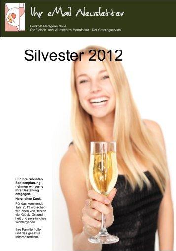 Leckeres zu Silvester - Metzgerei Nolle
