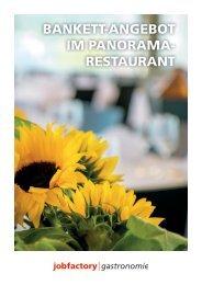 Bankett Angebot | Jobfactory Gastronomie