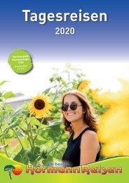 Tagesreisen Katalog 2020 mit Hörmann-Reisen