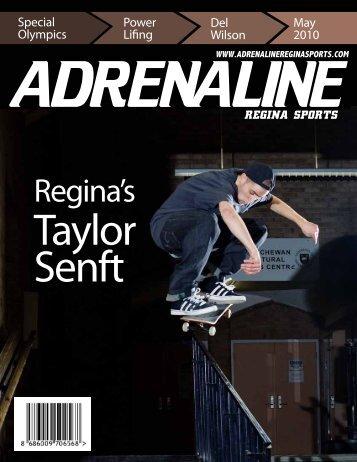 Regina's Taylor Senft - Adrenaline Regina Sports Magazine in ...