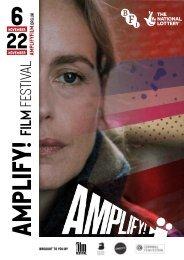 Amplify Film Festival Brochure BATH web