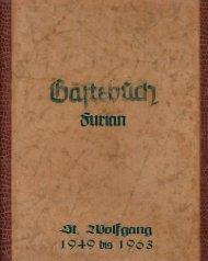 Furian Gästebuch
