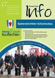 Gemeinde Info Folge 1/2007 - Taufkirchen an der Pram