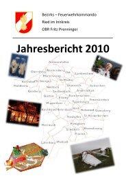 Jahresbericht 2010 - BFKDO Ried im Innkreis