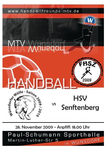 HSV Senftenberg - pgmheft