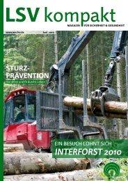 INTERFORST 2010 - Die Landwirtschaftliche Sozialversicherung