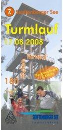 Turmlauf Ausschreibung 2008 - Triathlon Team Senftenberg