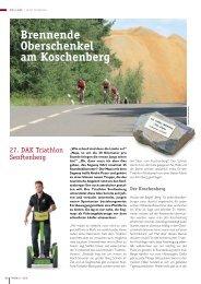 Brennende Oberschenkel am Koschenberg - Triathlon Team ...