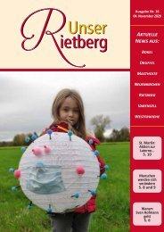 Unser Rietberg Ausgabe 16 vom 04. November 2020