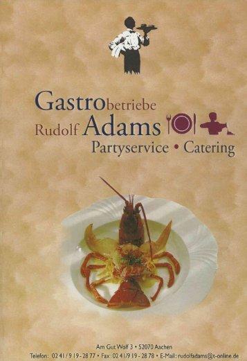 pdf-Datei - bei Gastrobetriebe Adams