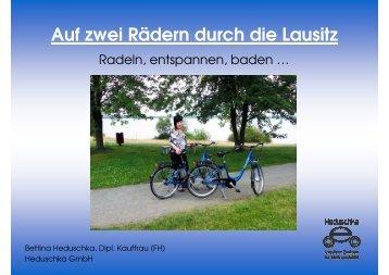 Auf zwei Rädern durch die Lausitz - Lausitzer Elektromobile