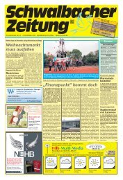 Schwalbacher Zeitung Ausgabe Kw 45-2020