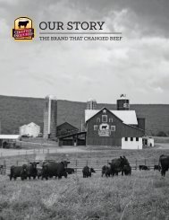 Our Story - The brand that changed beef