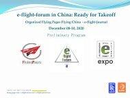 e-flight-forum 2020 online Conference 8-10 Dezember 2020