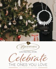 Burrows Jewellers Langtree Mall Christmas Catalogue 2020