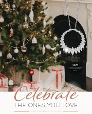 Facets Showcase Jewellers Christmas Catalogue 2020
