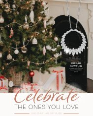 Keoghans Showcase Jewellers Christmas Catalogue 2020 New Zealand