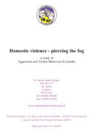 AP Domestic violence - piercing the fog - St. Neots Abuse Project