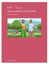 Serious Illness   HIV and AIDS - HERproject