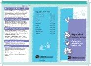Hepatitis B vaccination for newborn babies
