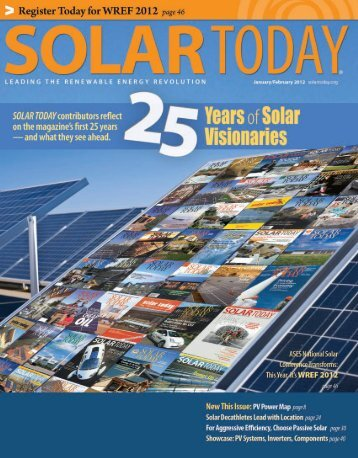 SOLAR TODAY - Artha Sustainable Living Center LLC