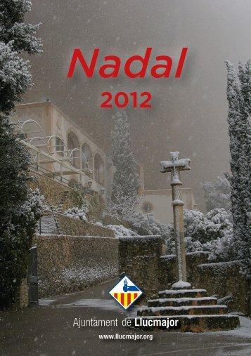 Programa Nadal 2012 - Ajuntament de Llucmajor