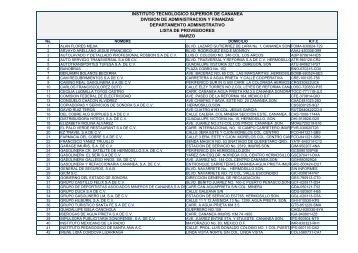 Lista de Proveedores Marzo 2011 - Gobierno del Estado de Sonora