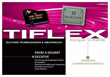 ENCRE A SOlvANt SICCAtIvE - Seritec Services SA