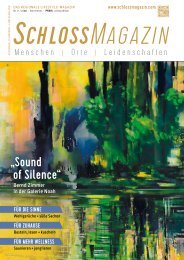 SchlossMagazin Augsburg Schwaben + Fünfseenland November 2020
