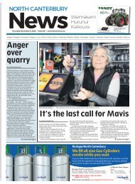 North Canterbury News: November 06, 2020