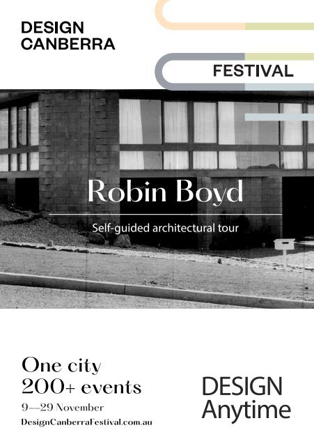 DESIGN Anytime - Robin Boyd