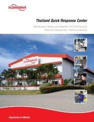Thailand Quick Response Center - Flowserve Corporation