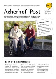 Acherhof-Post Nr. 17   6. November 2020