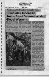 Dunia Akui Indonesia Serius Atasi Deforestasi dan Global ... - IPB-IRC