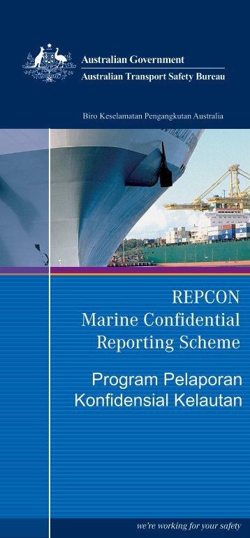 REPCON Marine Brochure Indonesian.indd - Australian Transport ...