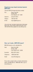 REPCON Marine Brochure Indonesian.indd - Australian Transport ... - Page 5
