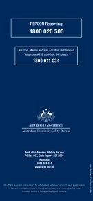 REPCON Marine Brochure Indonesian.indd - Australian Transport ... - Page 6